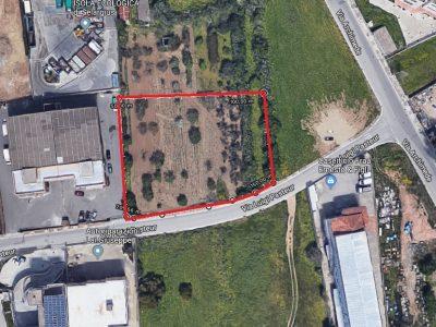 Terreno edificabile 2800 mq zona industriale di Selargius, Cagliari - presso S.S. 554